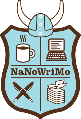 National Novel Writing Month shield