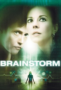 poster for the movie Brainstorm, starring hristopher Walken and Natalie Wood