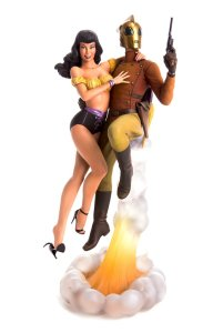 figure of The Rocketeer and Betty