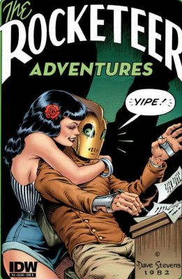 The Rocketeer and Betty by Dave Stevens