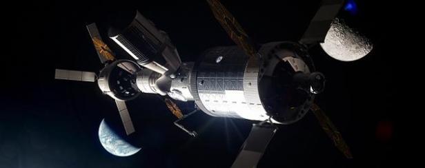 Gateway in Lunar orbit