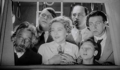 the cast of Frau Im Mond