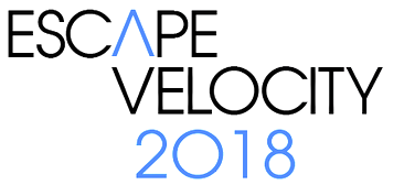 logo for Escape Velocity 2018
