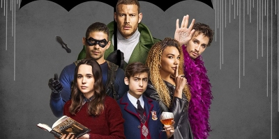 The main characters of The Umbrella Academy