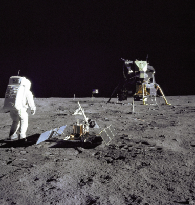 Apollo 11 Aldrin science experiment