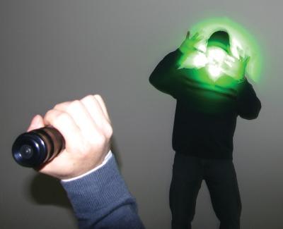 laser blinder