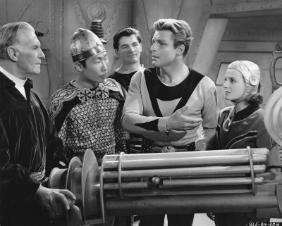 Buster Crabbe as Buck Rogers