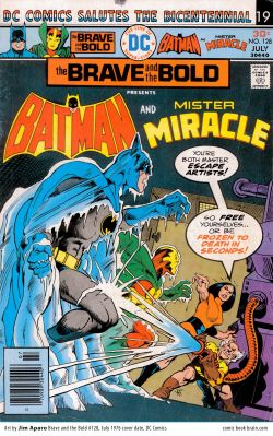 Batman and Mister Miracle in the Brave and the Bold