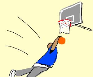 missed dunk