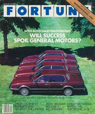 Fortune Magazine GM Cover