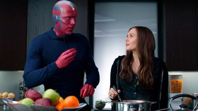 Wanda and Vision bonding